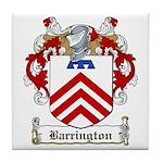 Barrington Family Crest Tile Coaster