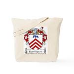 Barrington Family Crest Tote Bag