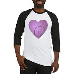 Swirl Hearts Baseball Jersey