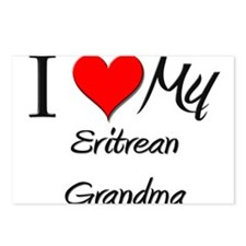 I Heart My Eritrean Grandma Postcards (Package of