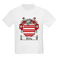 Barry Family Crest Kids T-Shirt