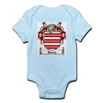 Barry Family Crest Infant Creeper