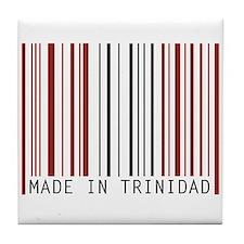 made in trinidad Tile Coaster