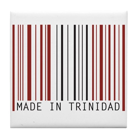 made in trinidad Tile Coaster