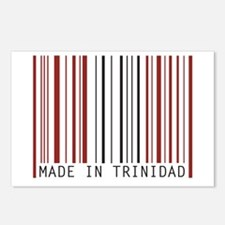 made in trinidad Postcards (Package of 8)