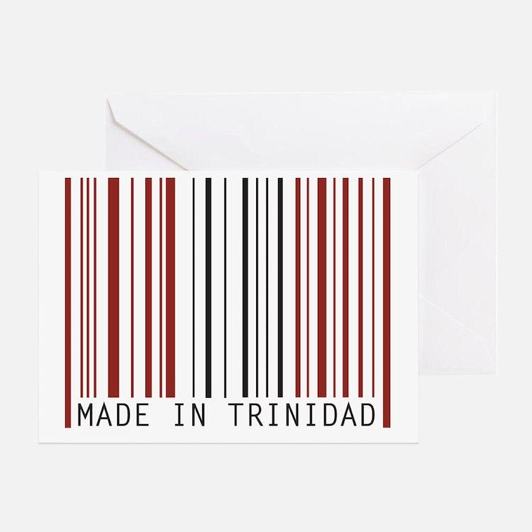 made in trinidad Greeting Card