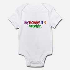 My Mommy Is A Teacher (PR) Infant Bodysuit