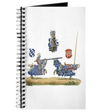 Knights Jousting Locks & Keys Battle Journal
