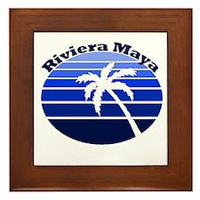 Riviera Maya, Mexico Framed Tile