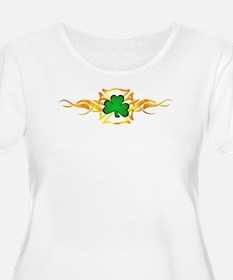 Firefighter Shamrock T-Shirt