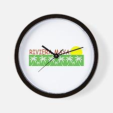 Riviera Maya, Mexico Wall Clock