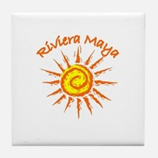 Riviera Maya, Mexico Tile Coaster