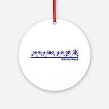 Riviera Maya, Mexico Ornament (Round)