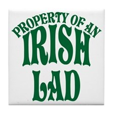 Property of an Irish Lad Tile Coaster