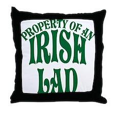 Property of an Irish Lad Throw Pillow