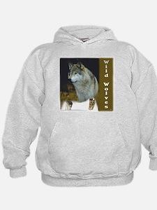 Wow 'n Funky Wild Wolves Hoodie
