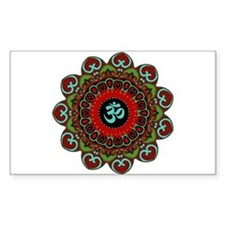 Om of Chaos Rectangle Decal