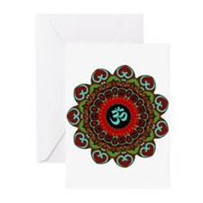 Om of Chaos Greeting Cards (Pk of 20)