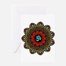 Om of Chaos Greeting Card