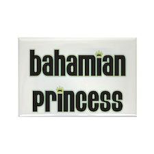 bahamian princess Rectangle Magnet