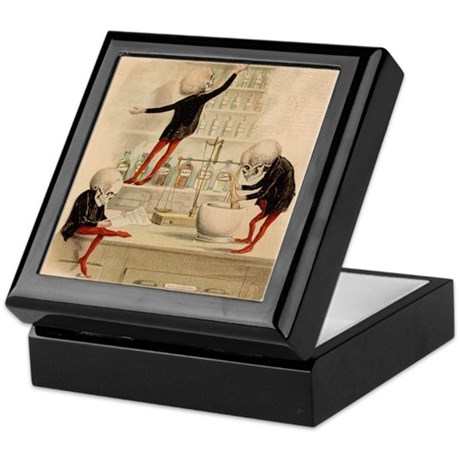 Pas De Substitution Keepsake Box