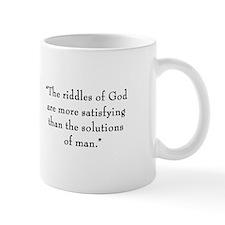 """G.K. Chesterton - """"Riddles of God"""" Mug"""