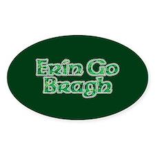 Erin Go Bragh v10 Oval Decal