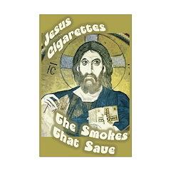 Jesus Cigarettes Small Poster 11x17