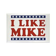 I Like Mike Rectangle Magnet
