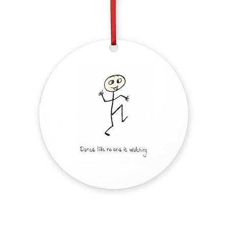 Dance like no one is watching Keepsake (Round)