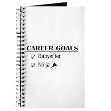 Babysitter Career Goals Journal