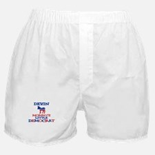 Devin - Mommy's Little Democr Boxer Shorts