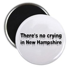 "Anti-Hillary in New Hampshire 2.25"" Magnet (100 pa"