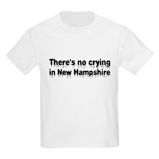 Anti-Hillary in New Hampshire T-Shirt