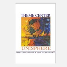Theme Center - Unisphere Postcards (Package of 8)