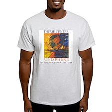Theme Center - Unisphere Ash Grey T-Shirt