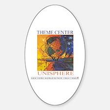 Theme Center - Unisphere Oval Decal