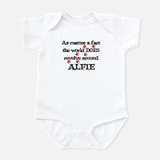 The World Revolves Around Alf Infant Bodysuit