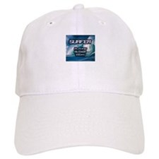 """Surfer Playing Author Today"" Baseball Cap"