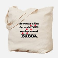 The World Revolves Around Bub Tote Bag