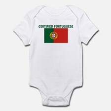 CERTIFIED PORTUGUESE Infant Bodysuit