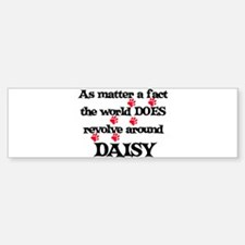 The World Revolves Around Dai Bumper Bumper Bumper Sticker
