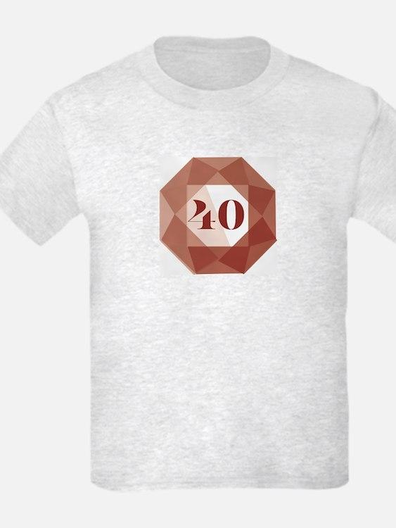 Ruby Anniversary T-Shirt