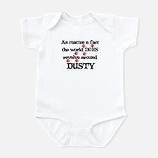 The World Revolves Around Dus Infant Bodysuit