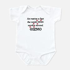 The World Revolves Around Giz Infant Bodysuit