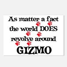 The World Revolves Around Giz Postcards (Package o