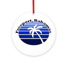 Freeport, Bahamas Ornament (Round)