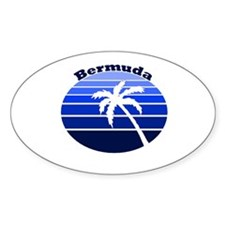 Bermuda Oval Decal