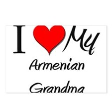 I Heart My Armenian Grandma Postcards (Package of