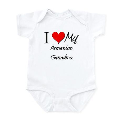 I Heart My Armenian Grandma Infant Bodysuit